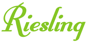 RIESLING WALL DECAL LIME GREEN