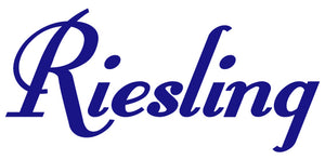 RIESLING WALL DECAL ROYAL BLUE