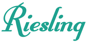 RIESLING WALL DECAL TURQUOISE
