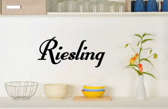RIESLING WALL DECAL