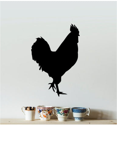 ROOSTER SILHOUETTE WALL DECAL