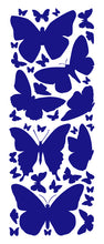 Load image into Gallery viewer, ROYAL BLUE BUTTERFLY WALL DECALS