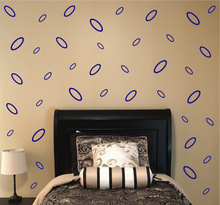 Load image into Gallery viewer, ROYAL BLUE OVAL WALL DECOR