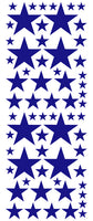 ROYAL BLUE STAR DECALS
