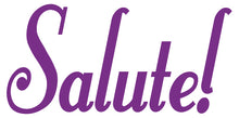 Load image into Gallery viewer, SALUTE WALL DECAL PURPLE