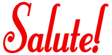 Load image into Gallery viewer, SALUTE WALL DECAL RED