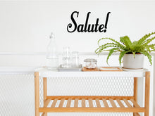 Load image into Gallery viewer, SALUTE WALL DECAL