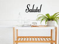 SALUTE WALL DECAL