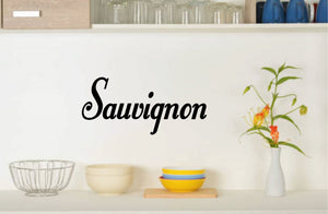 SAUVIGNON WALL DECAL