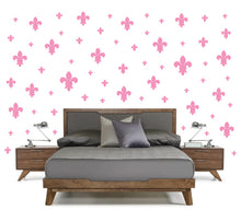 Load image into Gallery viewer, SOFT PINK FLEUR DE LIS WALL DECOR