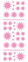 Load image into Gallery viewer, SOFT PINK STARBURST WALL STICKERS