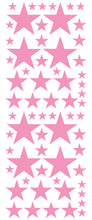 Load image into Gallery viewer, SOFT PINK STAR DECALS