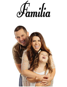 FAMILIA SPANISH WORD WALL DECAL FAMILY