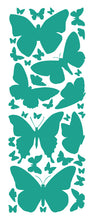 Load image into Gallery viewer, TURQUOISE BUTTERFLY WALL DECALS
