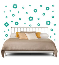 Load image into Gallery viewer, TURQUOISE DAISY WALL DECOR