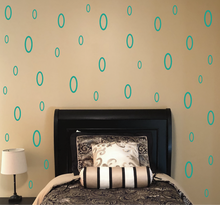 Load image into Gallery viewer, TURQUOISE OVAL DECALS