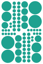 Load image into Gallery viewer, TURQUOISE POLKA DOT DECALS