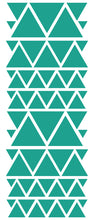 Load image into Gallery viewer, TURQUOISE TRIANGLE STICKERS