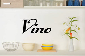 Vino wall decal