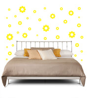 YELLOW DAISY WALL DECOR