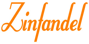 ZINFANDEL WALL DECAL ORANGE