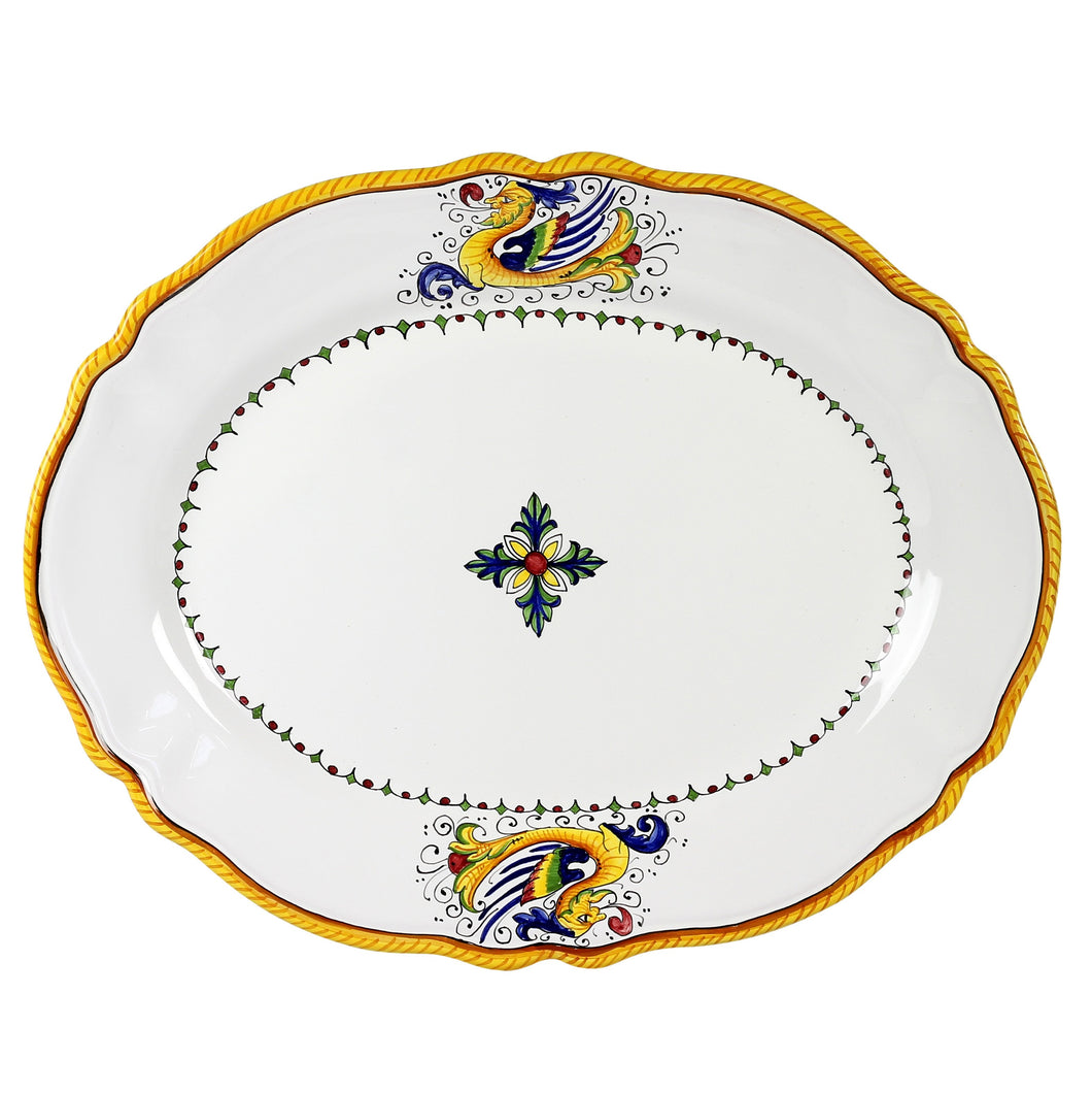 RAFFAELLESCO LITE: Serving Oval Platter