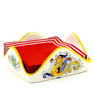 RAFFAELLESCO: Square Napkins Holder (For Luncheon size napkins (6 to 65 sq))