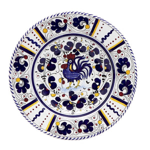 ORVIETO BLUE ROOSTER: Salad Plate