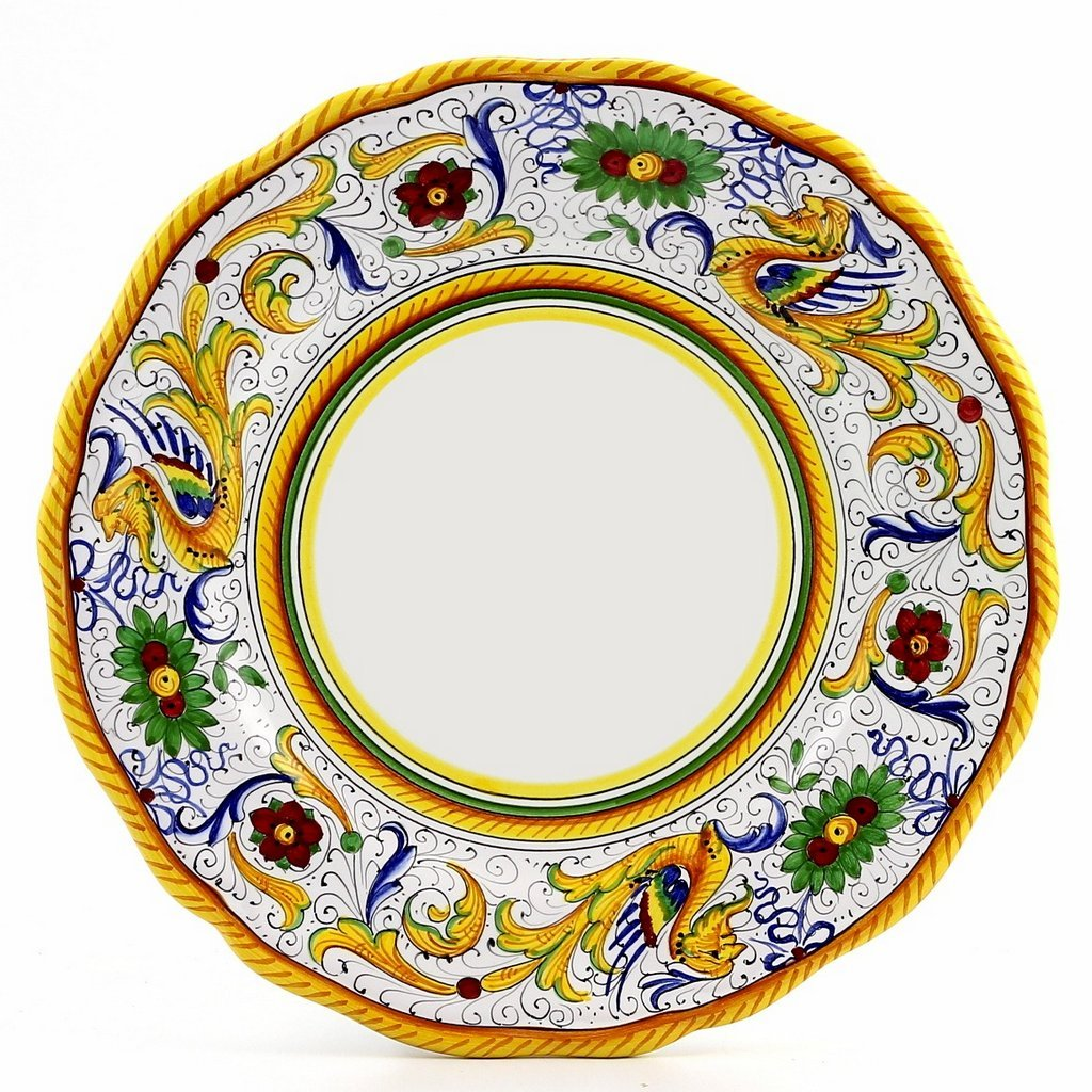 RAFFAELLESCO: Dinner Plate - White Center