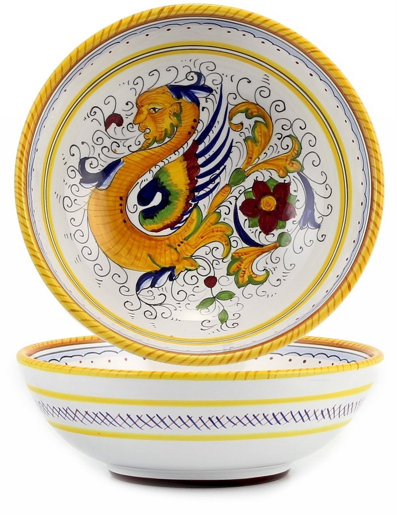 RAFFAELLESCO DELUXE: Soup Pasta Coupe Bowl