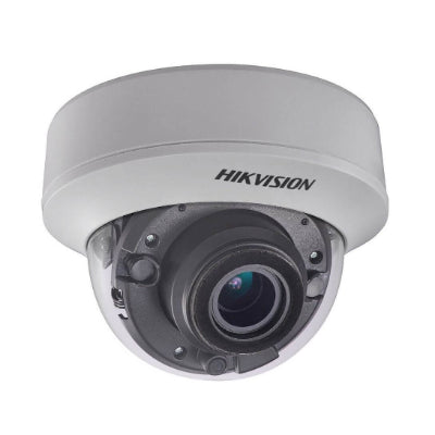 Hikvision TVI4.0 5MP Indoor IR Dome Camera, 20fps, DWDR, UTC, 12VDC/24VAC, 2.8-12mm