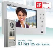 "Aiphone JO Series 7"" Touch Button Wifi Video Intercom Kit app connect"