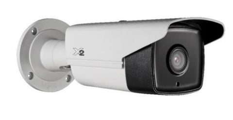 X2 Video 4MP Outdoor EXIR Bullet Camera, 50m IR, 4mm