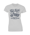 Full Speed - Gildan Ladies Premium Cotton T-Shirt