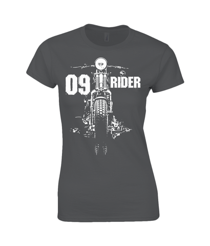 09 Rider - Gildan SoftStyle® Ladies Fitted Ringspun T-Shirt