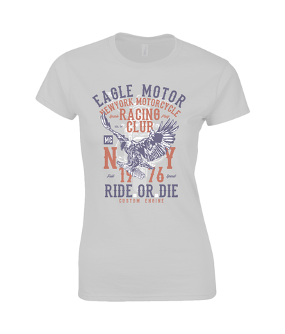 Eagle Motor - Gildan Ladies Premium Cotton T-Shirt