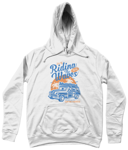 Riding The Waves - AWDis Girlie College Hoodie