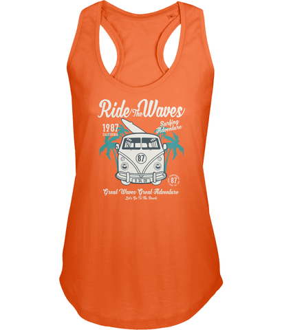 Ride The Waves - Sols Ladies Moka Tank Top