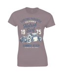 Hotrod Surf - Gildan SoftStyle® Ladies Fitted Ringspun T-Shirt