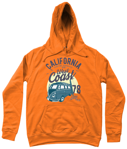 California West Coast v2 - AWDis Girlie College Hoodie