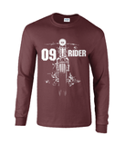 09 Rider - Gildan Ultra Cotton® Long Sleeve T-Shirt