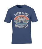 Spark Plugs - Gildan Premium Cotton T-Shirt - Biker T-Shirts UK