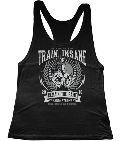 Train Insane - N92 Women's Low Cut Racer Back Tencel Vest