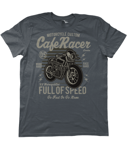 Cafe Racer v1 - Anvil Fashion Basic T-Shirt