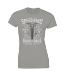 Speed King - Gildan SoftStyle® Ladies Fitted Ringspun T-Shirt