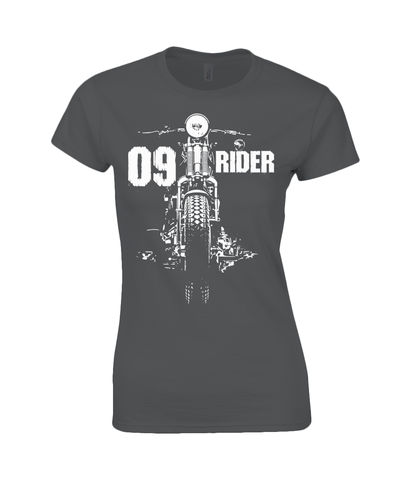 09 Rider - Gildan Ladies Premium Cotton T-Shirt
