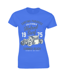 Hotrod Surf - Gildan Ladies Premium Cotton T-Shirt