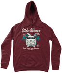 Ride The Waves - AWDis Girlie College Hoodie