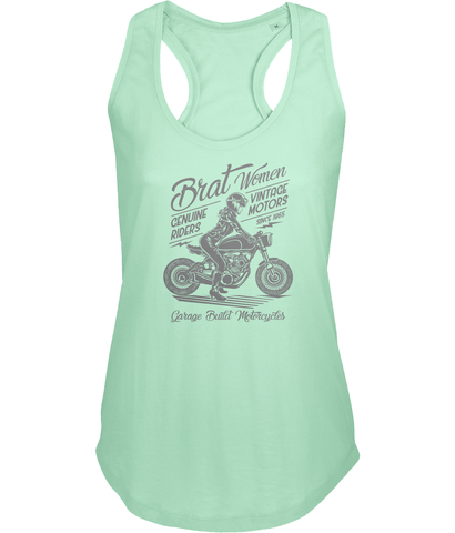 Brat Women Grey - Sols Ladies Moka Tank Top