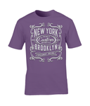 New York Motorcycle - Gildan Premium Cotton T-Shirt